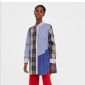 Zara patchwork tunic
